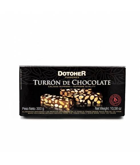 Nougat au chocolat