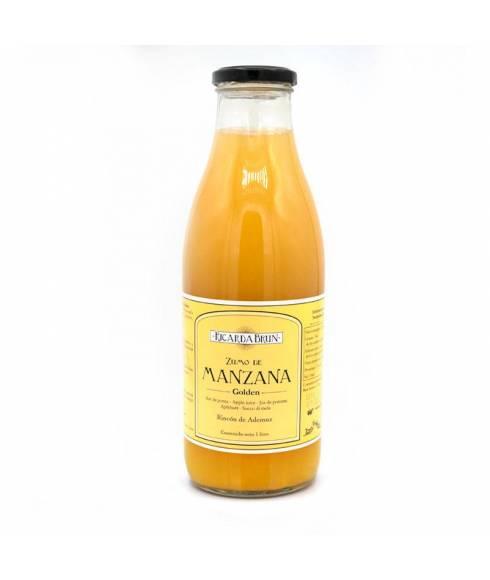 Golden apple juice