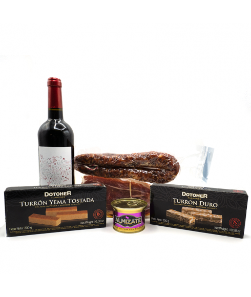 Lot of gourmet products