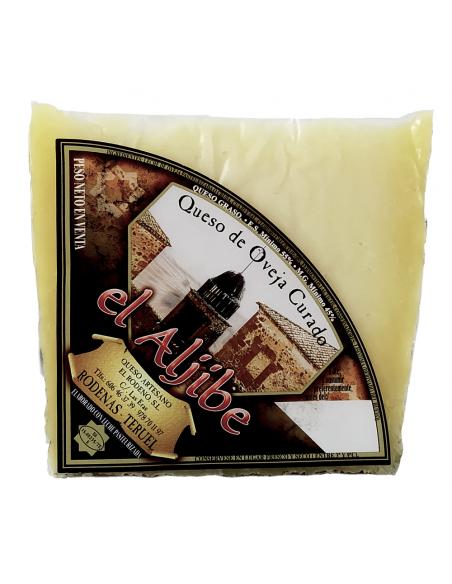 Cuña queso curado