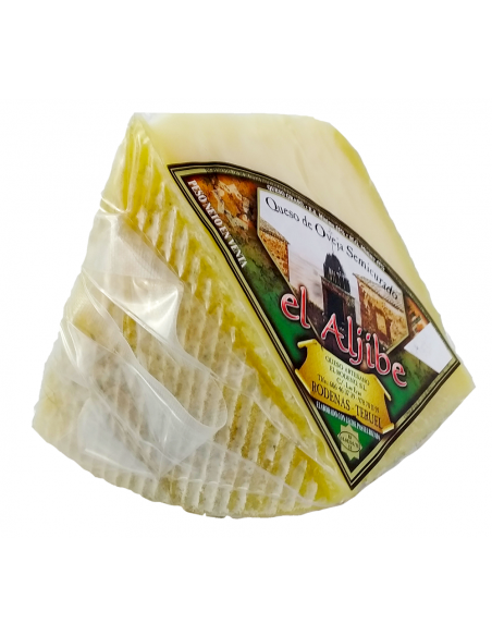Cuña queso semicurado