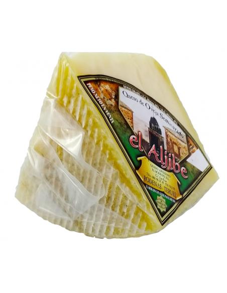 Quart de fromage semi-seche