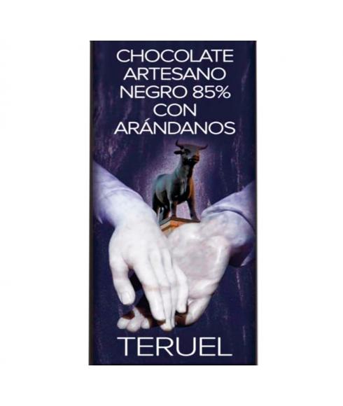 Chocolate Negro 85% con Arándanos