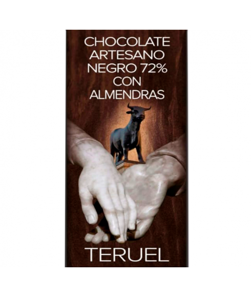 Chocolate con Almendras 72%