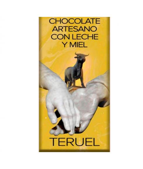 Artisan Chocolate with Milk and Honey