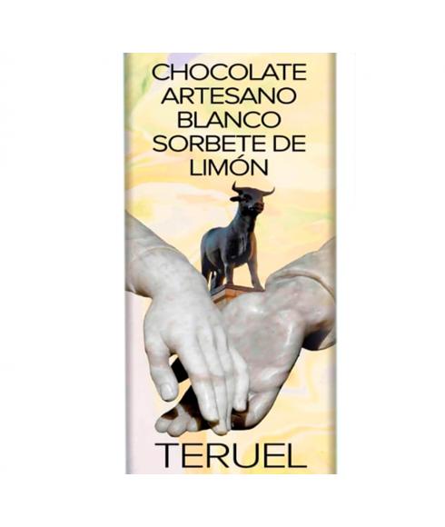 Artisan vit choklad med citronsorbet