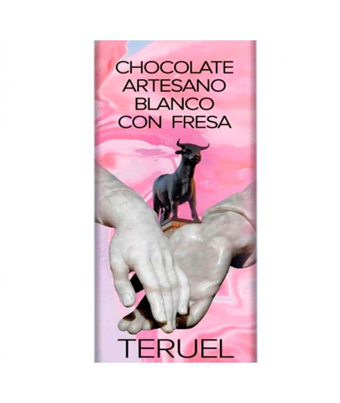 Chocolate Blanco con Fresa