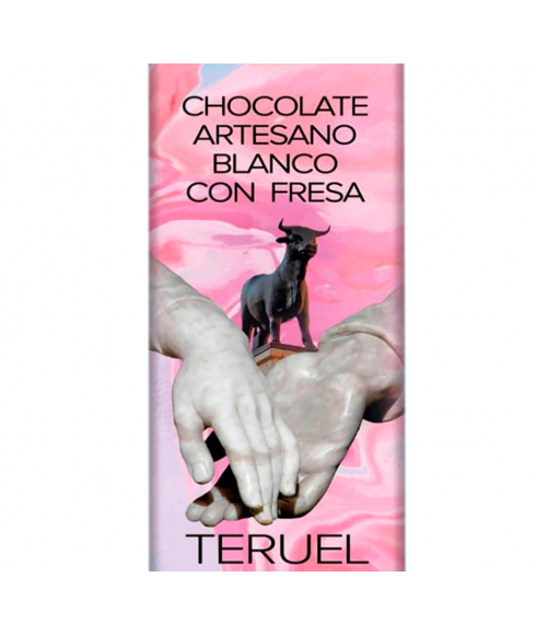 Cioccolato Bianco Artigianale con Fragola