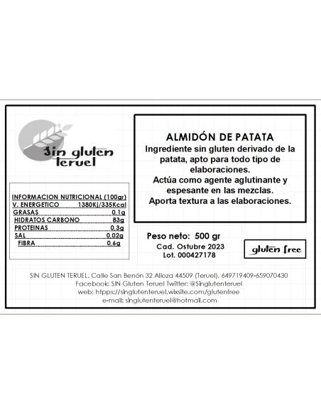 Harina Almidón de patata