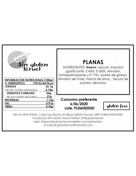 Spanish flat gluten free