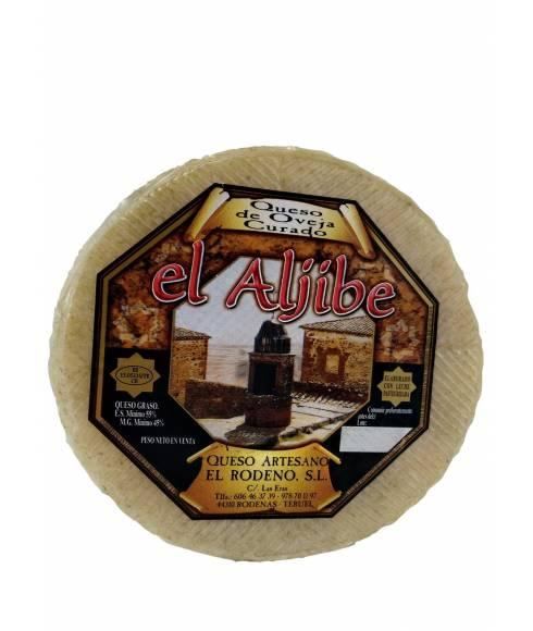 Härdad ost från Aljibe