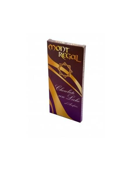 Chocolate negro al azafrán 100gr