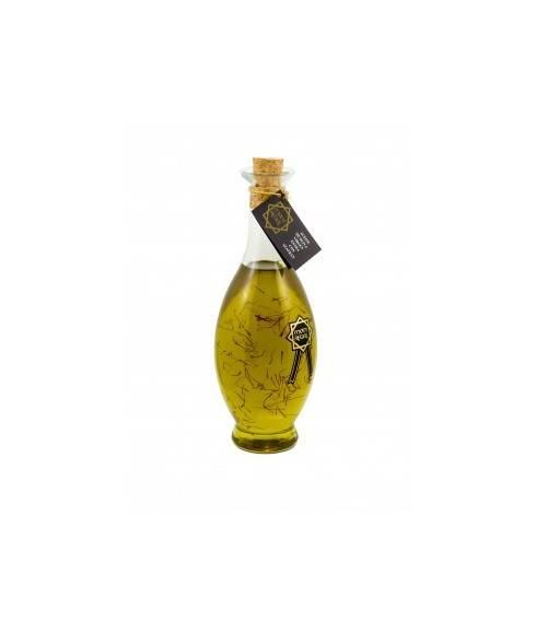 Huile d'olive au safran