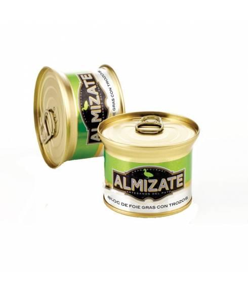 Bloc de foie gras 30% de morceaux