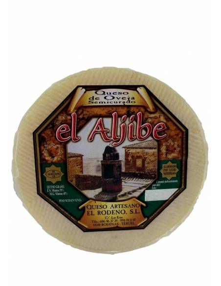 Cured cheese from el Aljibe