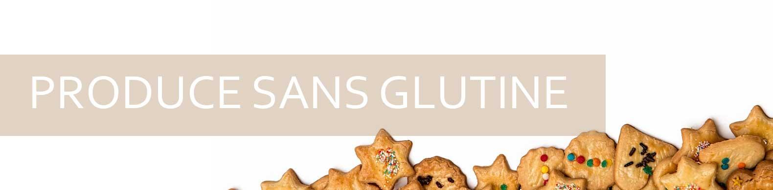 banner prodotti senza glutine sembrano gambe con forma di cuore e stella.
