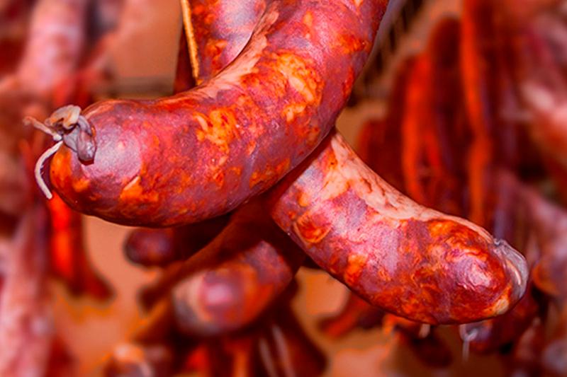 Saucisses de sanglier